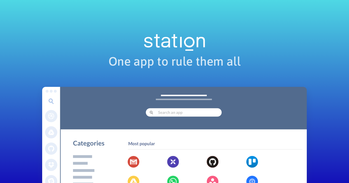 Station • One app to rule them all